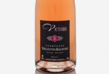Champagne Delouvin-Bagnost. Brut Rosé : Cuvée Victoire