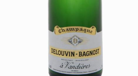Champagne Delouvin-Bagnost. Brut réserve