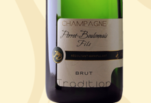 Champagne Perrot Boulonnais Fils. Brut tradition