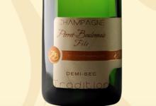 Champagne Perrot Boulonnais Fils. Demi-sec tradition