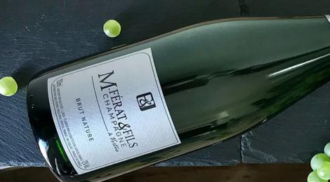 Champagne M.Ferat & Fils. Brut nature