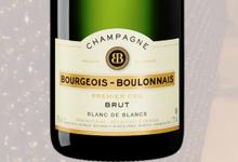 Champagne Bourgeois Boulonnais. Brut blanc de blancs premier cru
