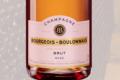 Champagne Bourgeois Boulonnais. Brut rosé premier cru