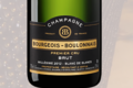 Champagne Bourgeois Boulonnais. Brut millésimé premier cru