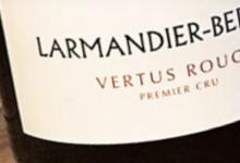 Champagne Larmandier Bernier. Vertus rouge