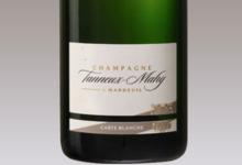 champagne Tanneux-Mahy. Carte blanche demi-sec