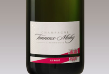 champagne Tanneux-Mahy. Champagne rosé