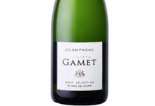 Champagne Gamet. Blanc de noirs
