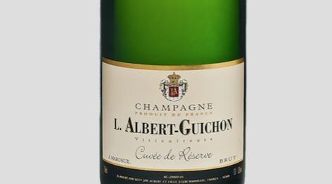 Champagne L.Albert-Guichon. Cuvée de réserve brut