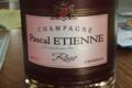 Champagne Pascal Etienne. Brut rosé