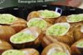 L'escargot Des Grands Crus. assiettes d'escargots cuisinés à la bourguignonne