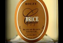 Champagne Brice. Bouzy blanc de blancs grand cru