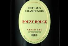 Champagne Brice. Bouzy rouge grand cru
