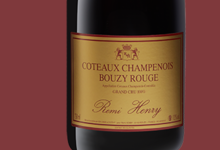 Champagne Remi Henry. Bouzy rouge