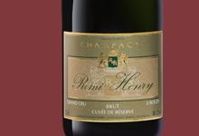 Champagne Remi Henry. Brut réserve