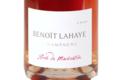 Champagne Benoît Lahaye. Champagne Extra-Brut, Rosé de macération