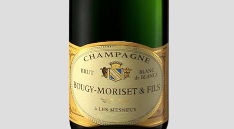 Champagne Bougy-Morizet. Brut blanc de blancs
