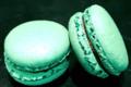 Chocolaterie Stéphane Lothaire. Macaron menthe chocolat