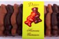 Deléans Chocolatier. Nounours guimauve