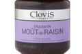 Clovis. Moutarde moût de raisin