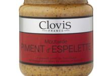 Clovis. Moutarde Piment d'Espelette