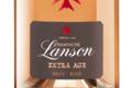 Champagne Lanson. Extra age brut rosé