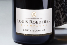 Champagne Louis Roederer. Carte blanche