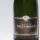 Champagne Taittinger. Brut millésimé