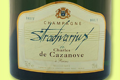 Champagne Charles De Cazanove. Stradivarius