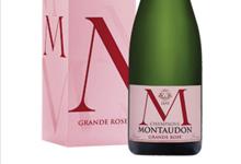 Champagne Montaudon. Grande rose