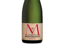 Champagne Montaudon. Demi-sec