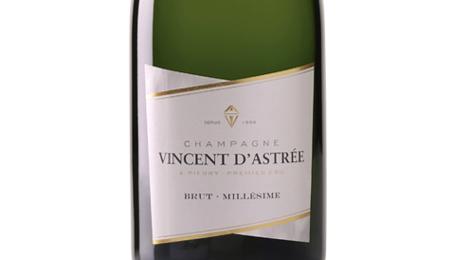 Champagne Vincent d'Astrée. Brut millésime