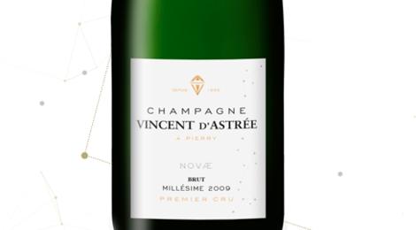 Champagne Vincent d'Astrée. Cuvée Novae