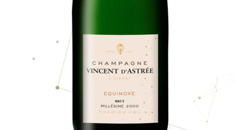 Champagne Vincent d'Astrée. Cuvée Equinoxe