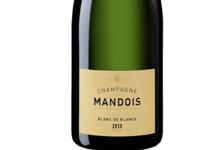 Champagne Mandois. Blanc de blancs millésimé