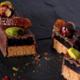 Chocolaterie Cherelle. bûche du chocolatier