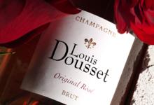 Champagnes Louis Dousset. Original rosé brut