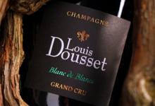 Champagnes Louis Dousset. Blanc de blancs