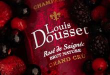 Champagnes Louis Dousset. rosé de saignée