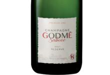 Champagne Godmé Sabine. Brut réserve premier cru