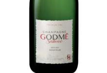 Champagne Godmé Sabine. Demi-sec premier cru