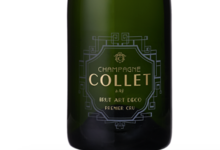 Champagne Collet. Brut art deco
