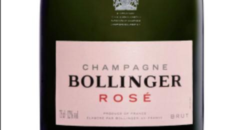 Champagne Bollinger. Bollinger rosé