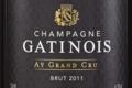 Champagne Gatinois. Brut millésimé