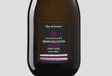 Champagne Hénin Delouvin. Pinot noir