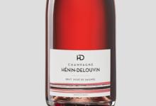 Champagne Hénin Delouvin. Rosé de saignée