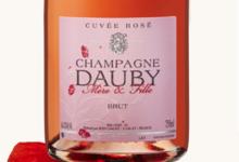Champagne Dauby. Rosé
