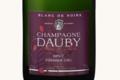 Champagne Dauby. Blanc de noirs brut premier cru