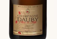 Champagne Dauby. Millésime