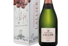 Champagne Lallier. Grand rosé grand cru